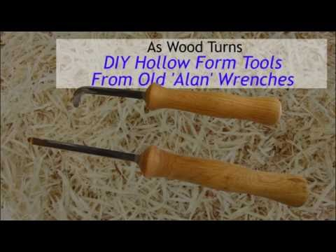 DIY Hollow Form Tools From Old 'Alan' Wrenches