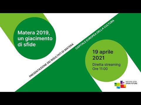 Matera 2019, un giacimento di sfide