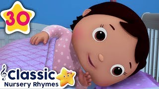Rock A Bye Baby +More | Baby Lullaby | Sleeping Baby | Little Baby Bum