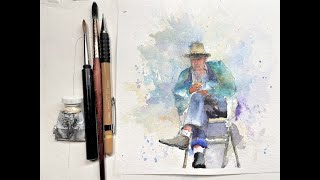 Фото Figure Painting Techniques In Watercolor - With Chris Petri