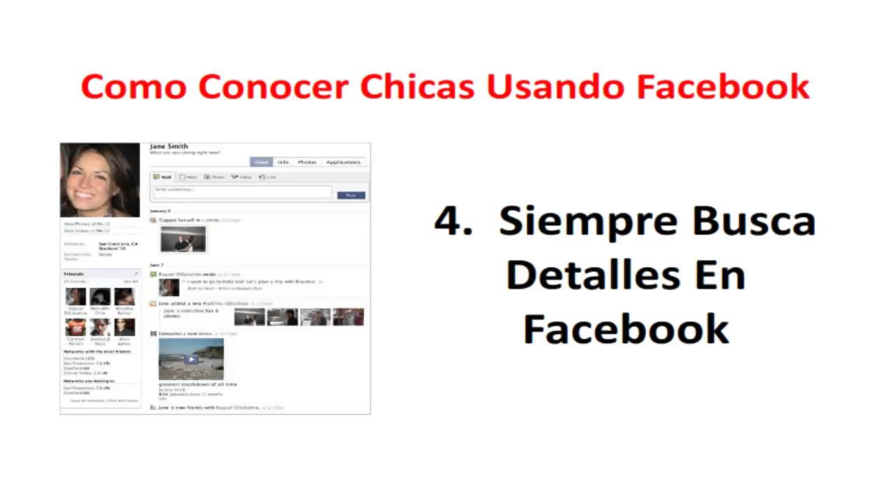 conocer gente en facebook