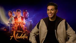 ALADDIN | Get to know Mena Massoud and Naomi Scott - Interview | Official Disney UK