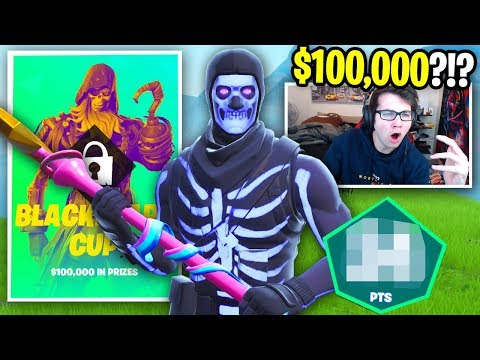 QUALIFYING For A $100,000 Fortnite TOURNAMENT... (I Turned Into A SWEAT)