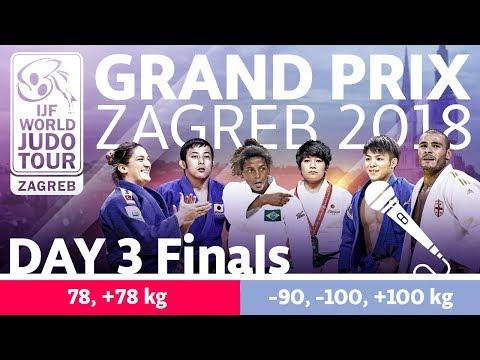 Judo Grand-Prix Zagreb 2018: Day 3 - Final Block