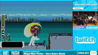 Mega Man Zero by Flameberger in 38:26 - Awesome Games Done Quick 2016 - Part 115