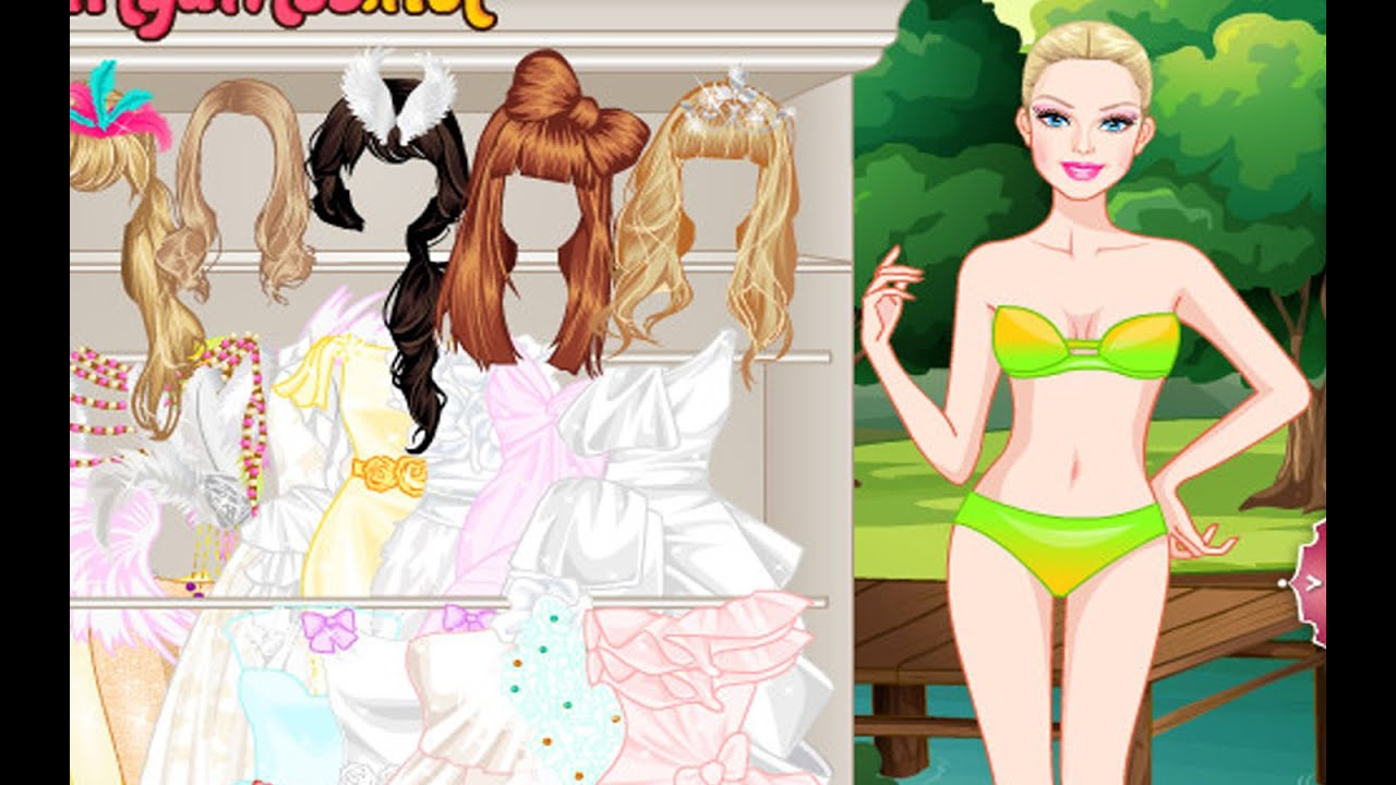 Barbie White Swan Bride 2 Games For Little Girls Youtube