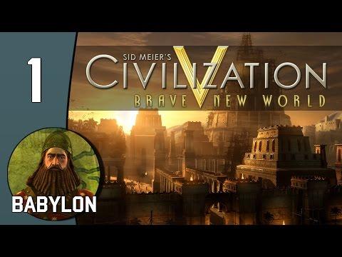 Island Life - Let's Play Civilization V: Babylon - Part 1