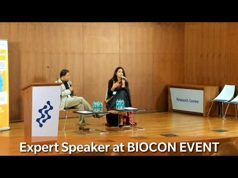 Shikha Nag | Expert Speaker at Biocon Event