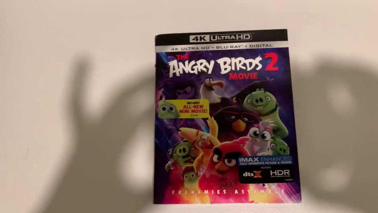 The Angry Birds Movie 2 4k Ultra Hd Blu Ray Unboxing Youtube