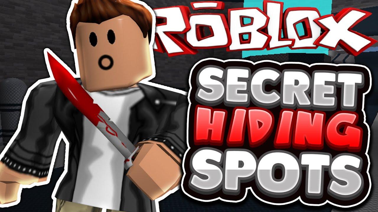 Roblox | Murder Mystery 2 | ALL SECRET HIDING SPOTS!! - YouTube