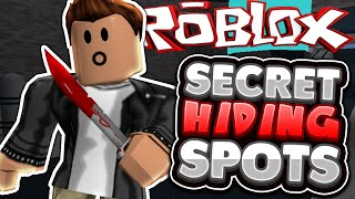Roblox | Murder Mystery 2 | ALL SECRET HIDING SPOTS!!