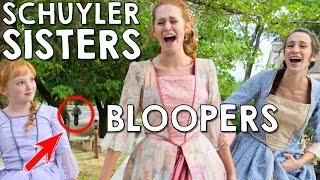 Schuyler Sisters BloopersGag Reel in Real Life