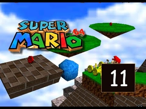 Super Mario 64 - Whomp's Fortress - Red Coins on the Floating Isle - 11/120