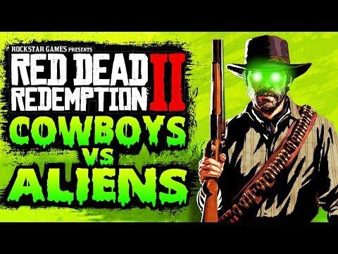 Cowboys vs Aliens DLC in Red Dead Redemption 2 thumbnail