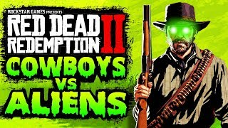 Cowboys vs Aliens DLC in Red Dead Redemption 2