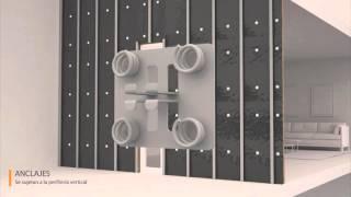 Instalación de fachada ventilada de porcelánico - polímero | Renovaciones Técnicas De FRIAS