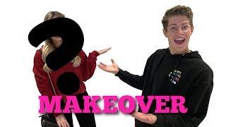 BEN AZELART GIVES ME A FULL MAKEOVER!!!