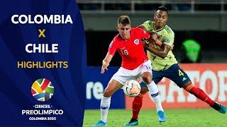 Colombia 0-0 Chile l Preolímpico 2020