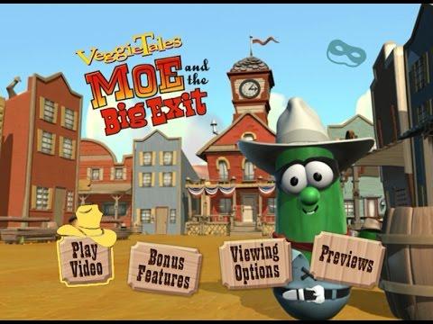 VeggieTales - Moe and the Big Exit Menu Walkthrough