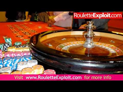 Video Roulette wheel layout double zero