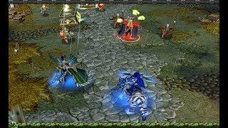 Warcraft 3 Frozen Throne Эльфы Глава 6: Осколки Альянса