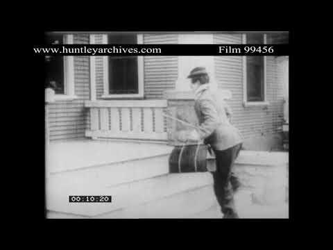 Syd Chaplin .  Archive film 99456