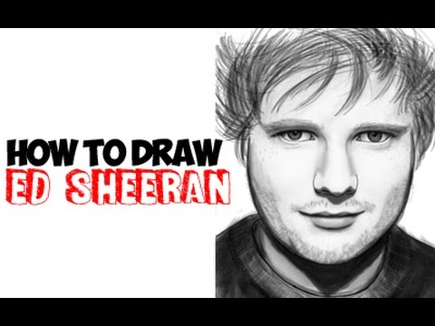 How to Draw Ed Sheeran Step by Step