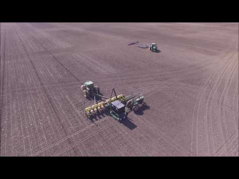 RENNER FARMS EATON, OHIO PLANTING SOYBEANS MAY 24, 2016