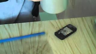 Просушка утопленного сотового телефона силикагелем