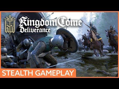 Kingdom Come: Deliverance - stealth gameplay