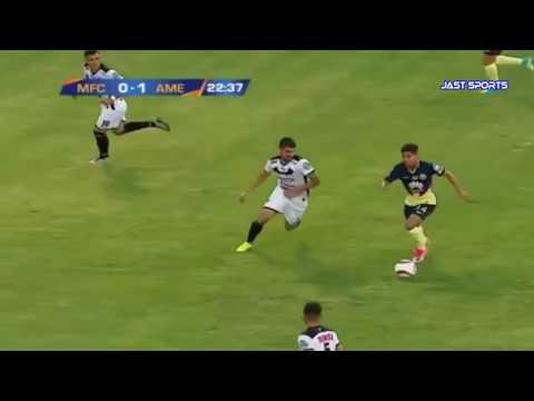 Murcielagos vs America 2-1 Resumen Goles Amistoso 2017 #FuerzaCheque#o