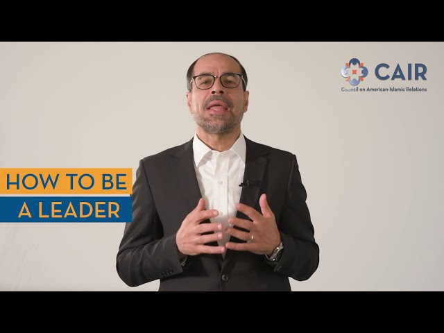 CAIR ED Nihad Awad Invites You to Learn How to Be a Leader at Our National Conference, Oct. 19-20