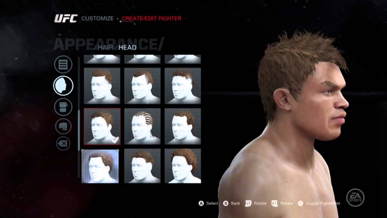 Image result for UFC 3 player customization