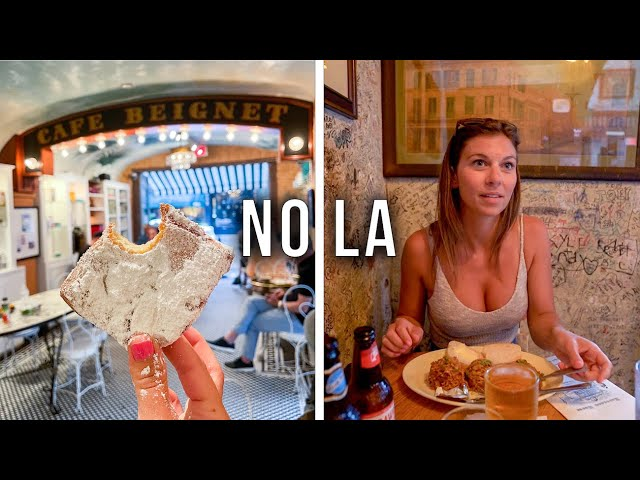 2 Days in New Orleans - What To Do and What to EAT! - Vlog 63