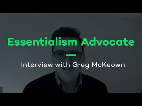 Interview with Greg McKeown - Productive! Magazine #34