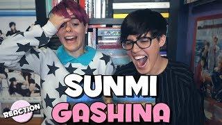SUNMI (선미) - GASHINA (가시나) ★ MV REACTION