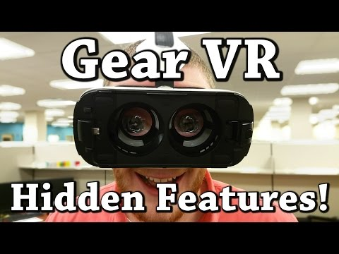 Top 5 Hidden Features on the Samsung Gear VR Innovator Edition!
