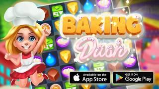 2D   Baking Dash  King of Cake Masters   Match 3 games