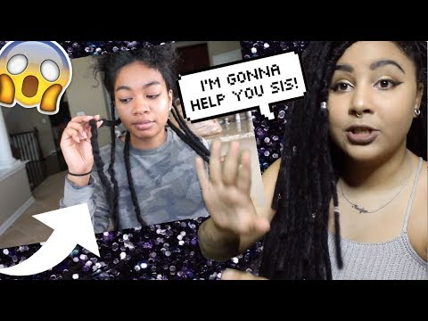 NATURAL GIRL REACTS TO NATURAL HAIR FAIL #6  FAUX LOC FAIL! + ADVICE!
