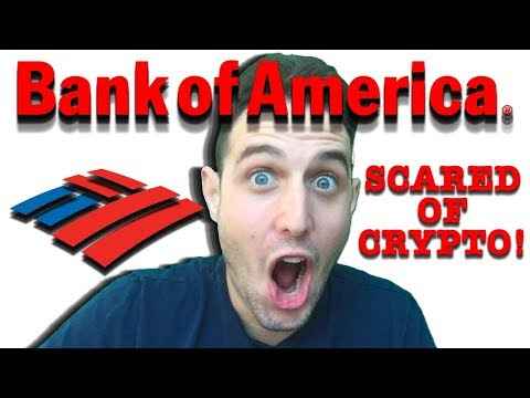 "Bank of America ""scared"" of crypto! Will bitcoin kill big banks? Breaking Crypto News!"