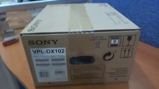 UNBOXIMG SONY VPL DX102 PROTECTOR