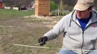 Стеклопластиковая арматура. Как правильно вязать петлю(www.fiberglass.kiev.ua Простой вариант вязки арматуры с помощью вязальной проволоки. Но в данном видео мы покажем..., 2016-05-11T11:20:24.000Z)