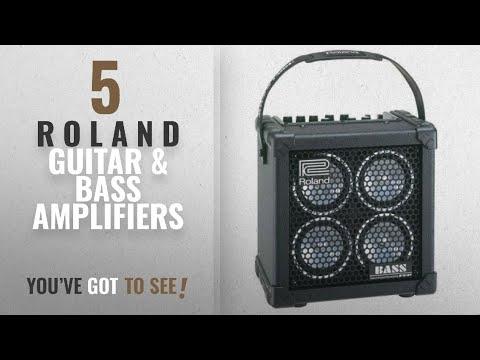 Top 10 R O L A N D Guitar & Bass Amplifiers [2018]: Roland Micro Cube Bass RX Battery-Powered Bass