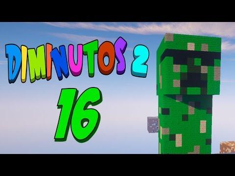 DENTRO DEL CREEPER!! #DIMINUTOS2 | Episodio 16 | Minecraft Supervivencia | Willyrex y sTaXx