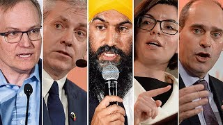 NDP leadership candidates debate in St. John's