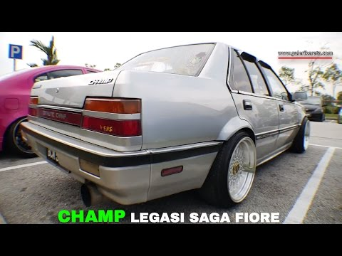 Proton Saga Fiore - The Catalytic Champ | Meet And Greet Stance Collaboration 2016