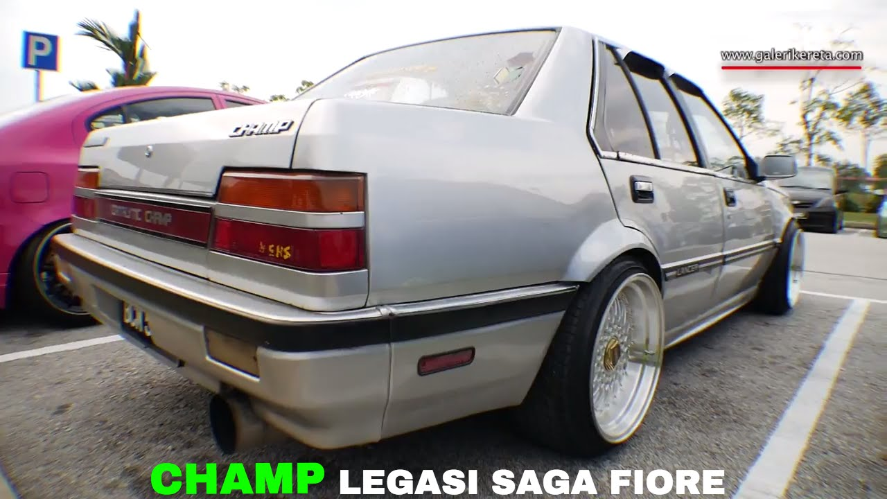 Proton Saga Fiore The Catalytic Champ Meet And Greet Stance
