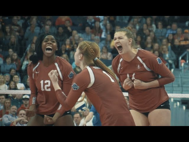 2016 Stanford Women's Volleyball NCAA vs. Minnesota Highlights