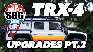 TRX 4 Shapeways Upgrades Part 2