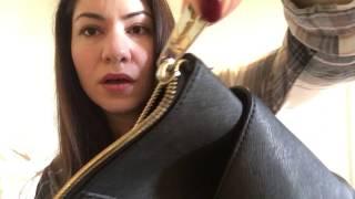 Michael Kors jet set zip top bag review & what's in my bag!